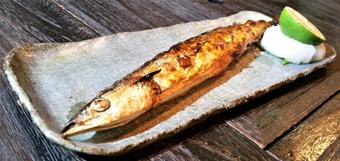秋刀魚 焼き