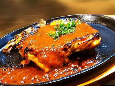 鶏・鉄板ステーキ  ・・・ 680円
