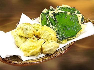山菜天ぷら ・・・ 600円~