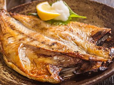 焼魚(各種) ・・・ 400円~
